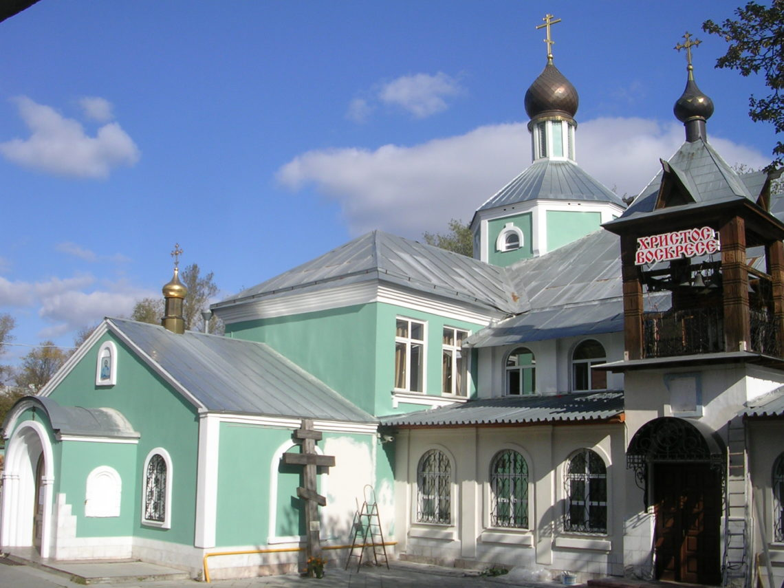 храм прп Андрея Рублева в Электростали